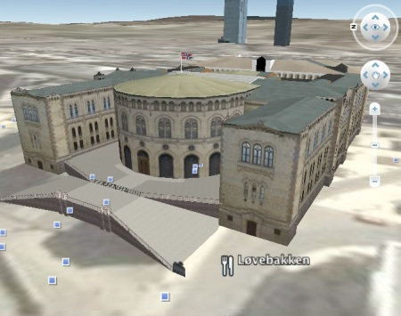 Google Earth - 3D