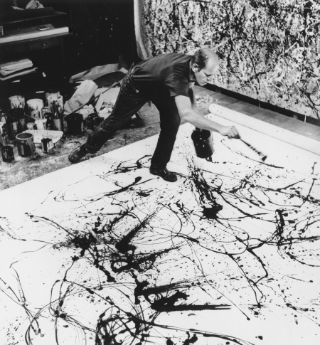 Pollock In Action (Pun Intended)