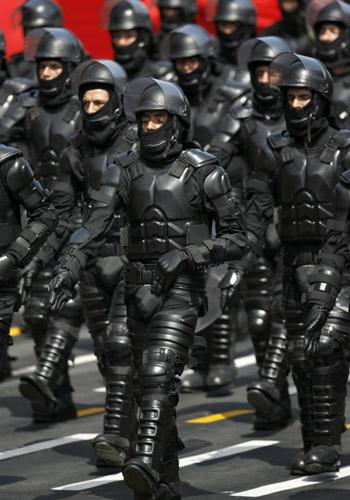 Peruvian Riot Police Armor