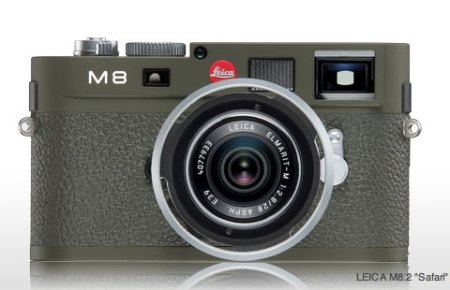 Olive green goodness - The Leica M8.2 Safari!