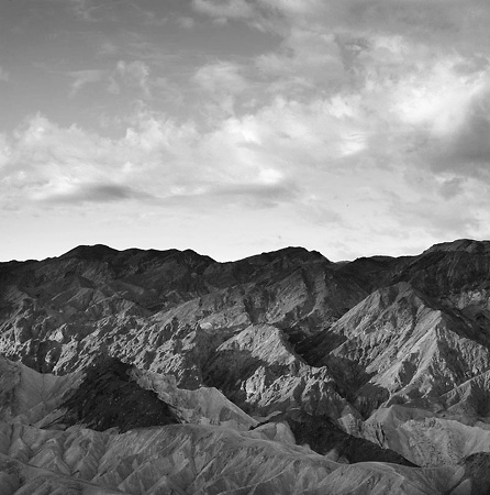 Sunrise, Zabriskie Point, Death Valley