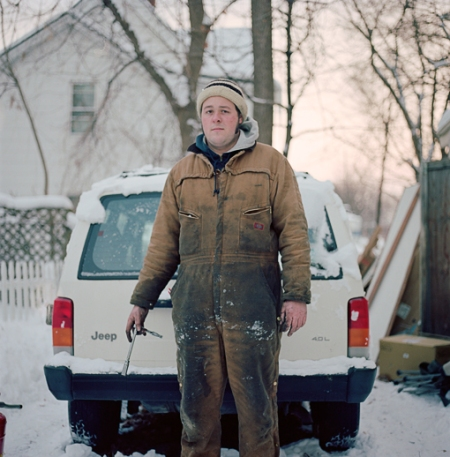"""Joe Diesel, Ypsilanti, Michigan, 2009"" © Peter Baker"