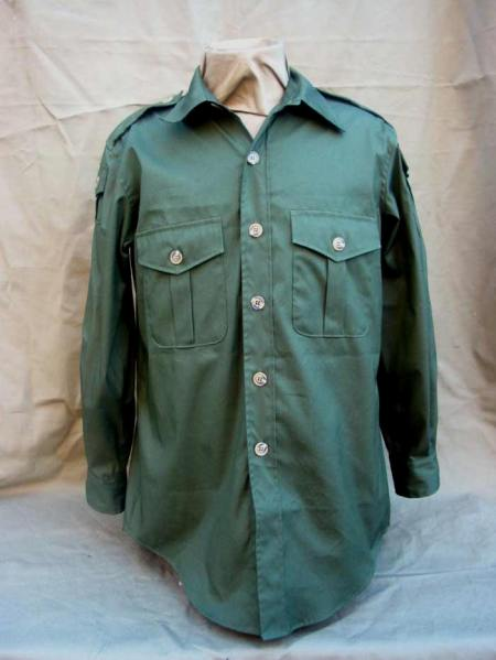 Olive Quarpel Oxford Safari Shirt