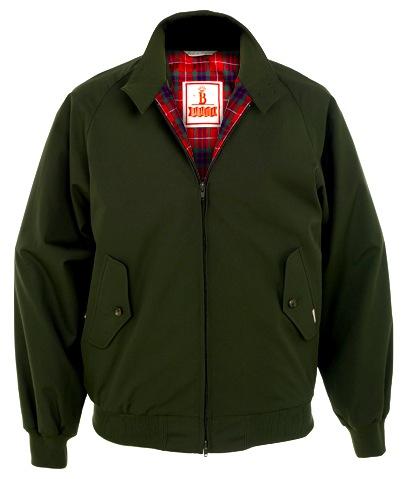 The Cool Slimfit G9 Harrington - Acorn Green