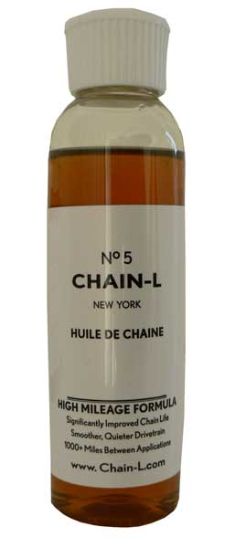 Chain-L No. 5 High Mileage Bicycle Chain Oil