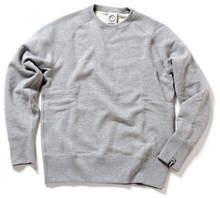 Loopwheeler Crew-Neck Sweater