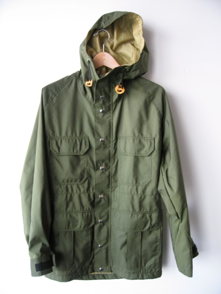 60/40 army green montagne parka