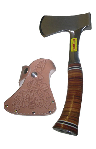 Leather Sportsman's Axe - E24A