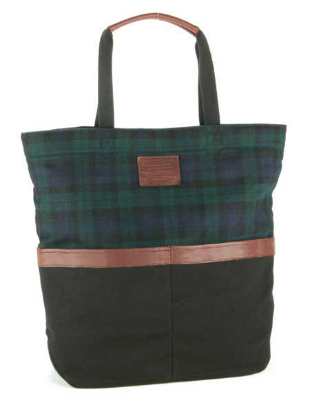 The Black Watch Two Pocket Tote