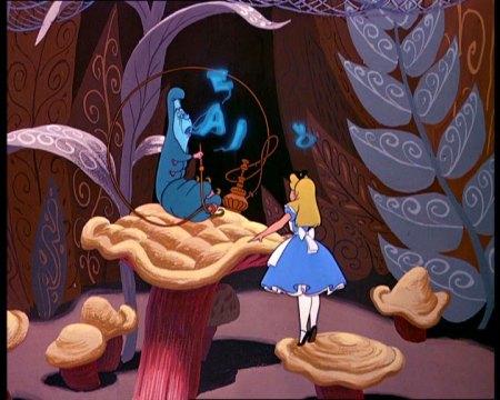 Alice in Wonderland - Caterpillar