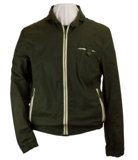 Waxed Cotton Green Fisher Jacket
