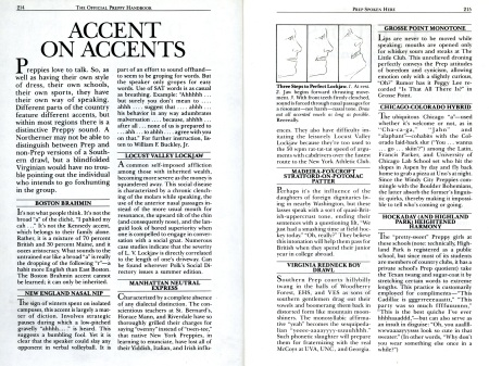 Accent On Accents