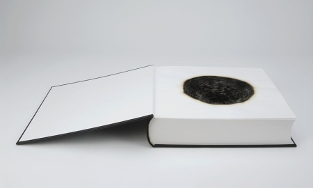 'Fume', Hand-made book, burnt, 2007