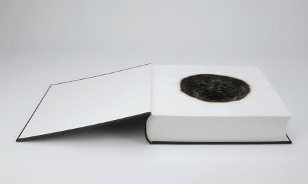 'Fume', Hand-made book, burnt, 2007
