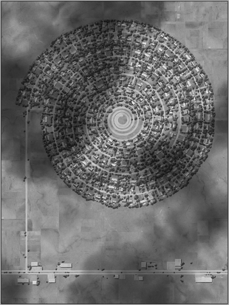 """Ross Racine, Subdivision: Greenfield Lakes, 2008. Digital drawing (inkjet print on archival paper)20.5""""X15.5"""""""