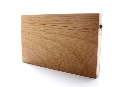 Wood Business Card Case by Masakage Tanno - Closed