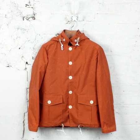 Fishermans Cagoule Orange
