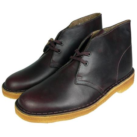 Clarks Desert Boot Antique Burgundy