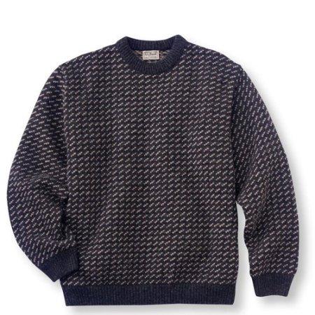 Reissued 100 percent wool L.L. Bean Norwegian Sweater - Kommer i november