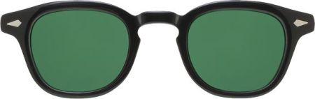 Moscot Lemtosh Black w/ Calibar Green Lenses
