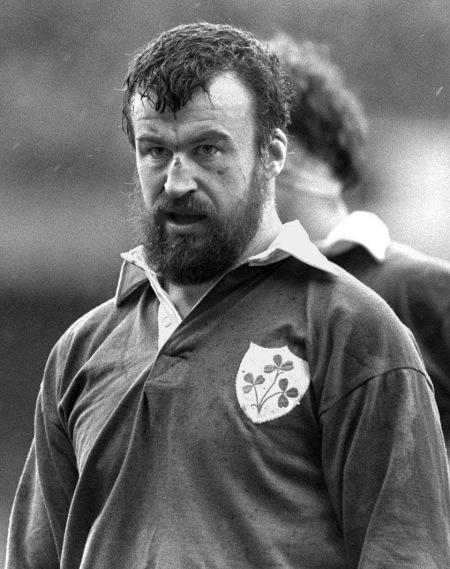 Mick Fitzpatrick, Irish Rugby Player, 1980