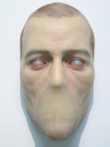 Sam Jinks, Untitled, 2007 silicon, paint & human hair