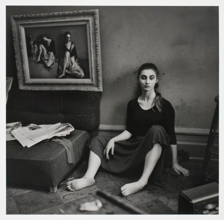 Moses Soyer's Studio, NYC, c. 1957/1958, Larry Fink